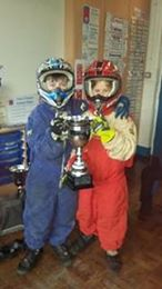 Stockcar afternoon for Year 5