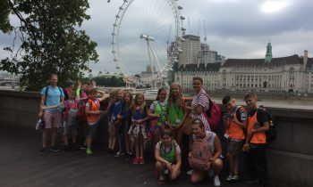 Can you guess where we went…? _ondon…